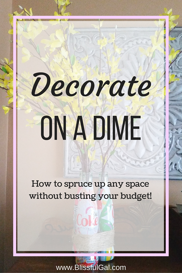 decorate on a dime blissful gal